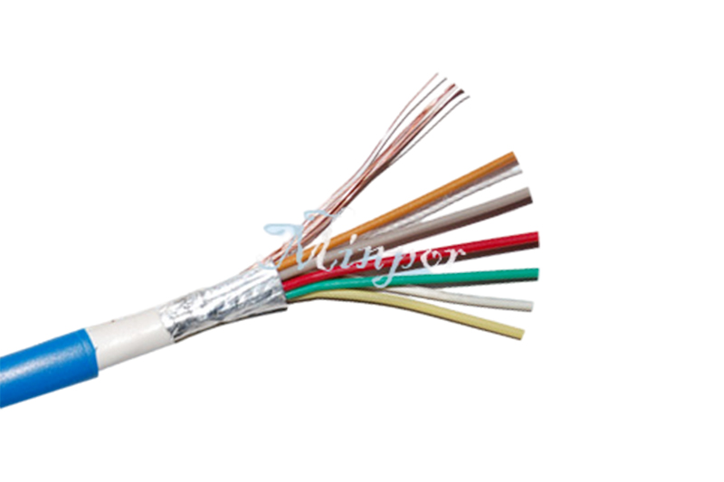 Alarm cable 6*0.22 Twin Jacket